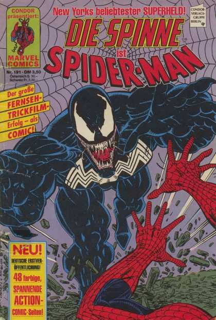 Die Spinne 351 - Spiderman - Venom - Attack - Duel - Supervillain