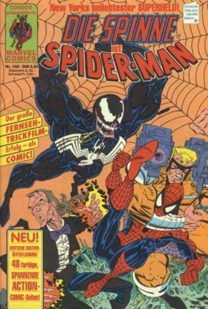 Die Spinne 352 - Comic - Art - Spiderman - German - Marvel