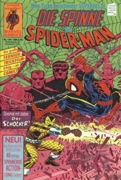 Die Spinne 354 - Condor - Marvel Comics - Spider-man - Schocker - Web