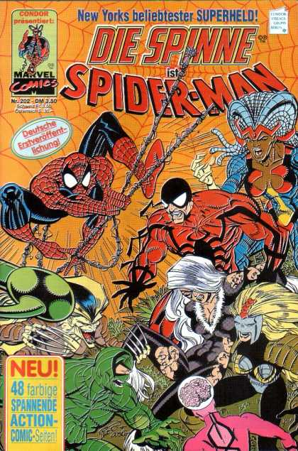 Die Spinne 362 - Die Spinne - Spider Man - Thrirr - Action - Fun