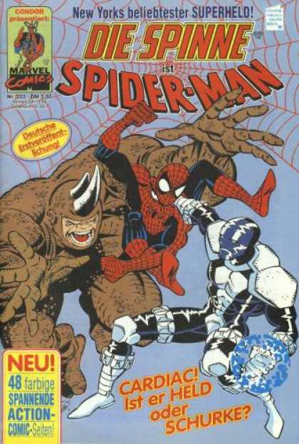 Die Spinne 363 - German - Spiderman - New Yorks Best Superhero - 2 Villians Attacking Spiderman - 2 Horns