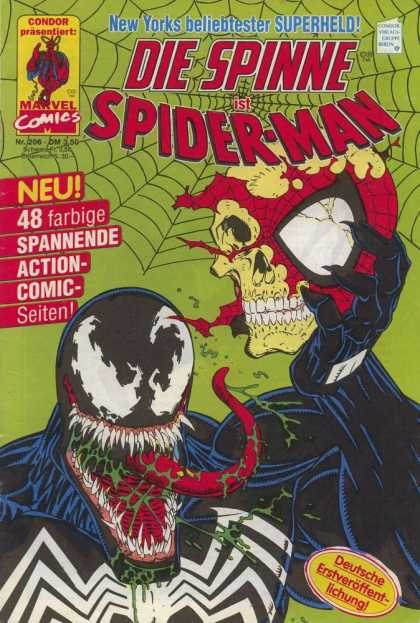 Die Spinne 366 - Spider-man - Skull - Tongue - Web - Venom