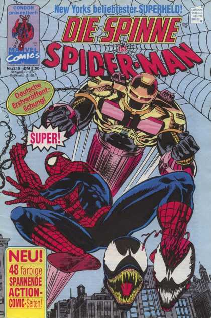 Die Spinne 375 - Condor - Marvel Comics - Superhero - Web - Robot