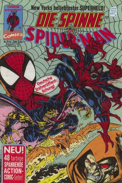 Die Spinne 376 - Spidey - Mutant - Mutated - Chemically Changed - Goblin