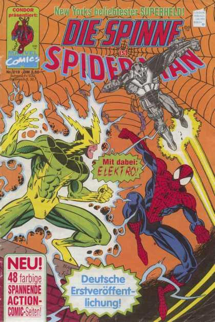 Die Spinne 379 - German - Elektro - Marvel - Iron Man - Web