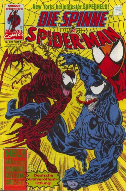 Die Spinne 387 - Marvel - Marvel Comics - Spiderman - Carnage - Venom
