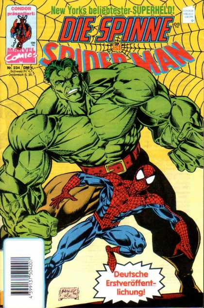 Die Spinne 394 - Marvel - Hulk - Spiderman - Costume - Superhero