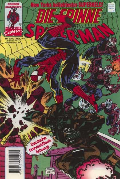 Die Spinne 395 - Marvel - Marvel Comics - Spider-man - Attack - Spider Web
