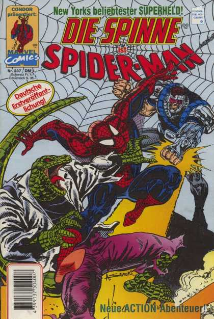 Die Spinne 397 - Spider-man - Marvel Comics - Web - Superhero - Lizard