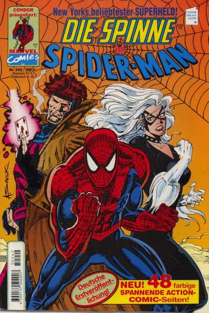 Die Spinne 402 - Spider-man - X-men - Storm - Gambit - Crossover