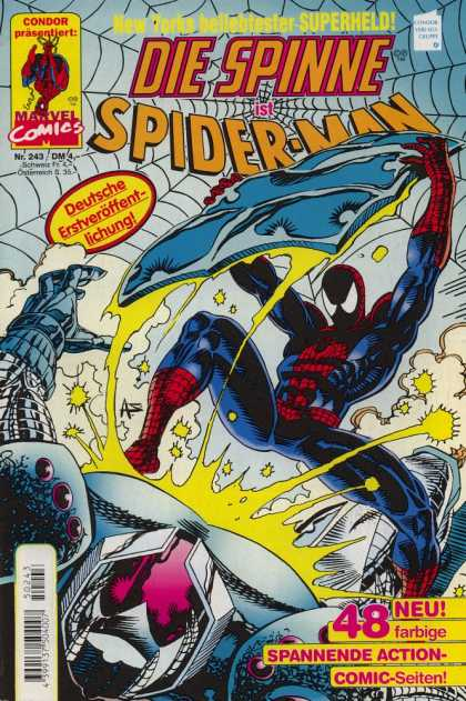Die Spinne 403 - Die Spinne - Spider Man - Marvel Comics - Superheld - Condor