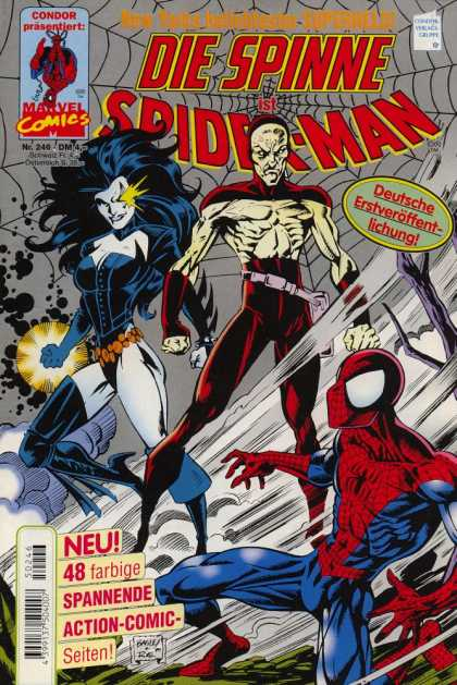 Die Spinne 406 - Women - Superhero - Spiderman - Black Women - Net