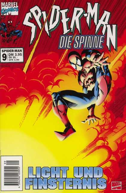 Die Spinne 434 - Spiderman - Yellow Smoke - Fire - Yellow Rays - White Eyes