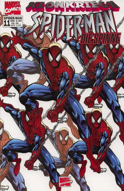 Die Spinne 436 - Spider Man - 11 - Webbing - Costume - Marvel Comics
