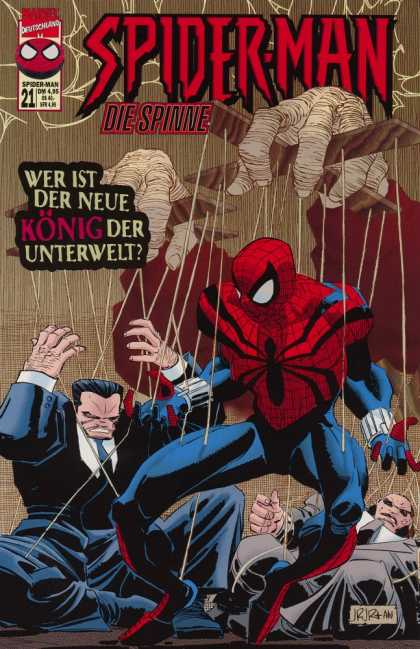 Die Spinne 446 - German - Marvel - Mafia - Underworlds - Criminals
