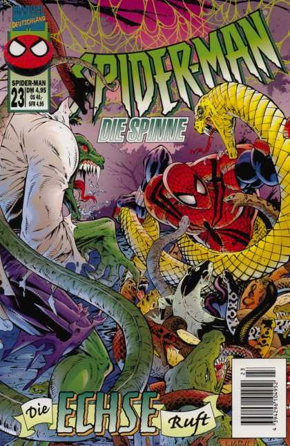 Die Spinne 448 - Marvel Comics - Modern Age - German - Superheros - Snakes