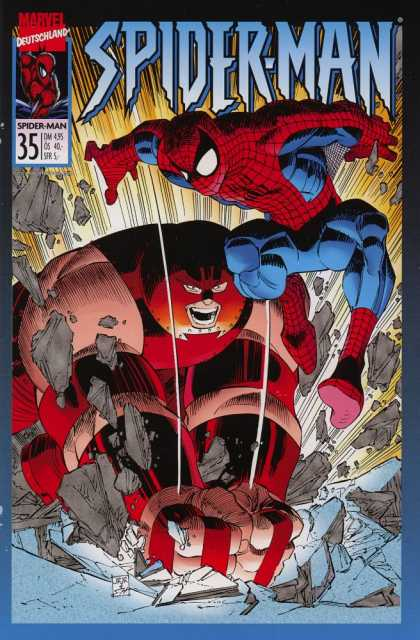 Die Spinne 462 - Spider-man - Marvel - Juggernaut - Superhero - Fighting