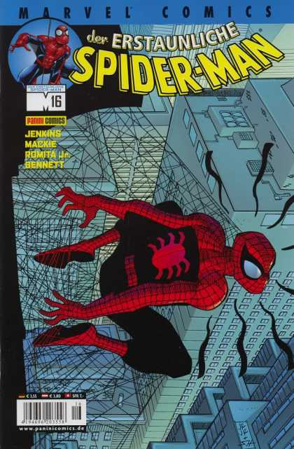 Die Spinne 493 - Spiderman - Web - Jenkins - Mackie - Romita Jr