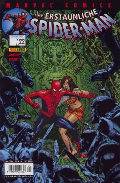 Die Spinne 499 - Spider-man - Marvel Comics - Superhero - Woman - Avery Gand