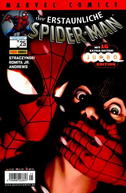 Die Spinne 502 - Spider-man - Jumbo Edition - Mask - Andrews - Romita Jr
