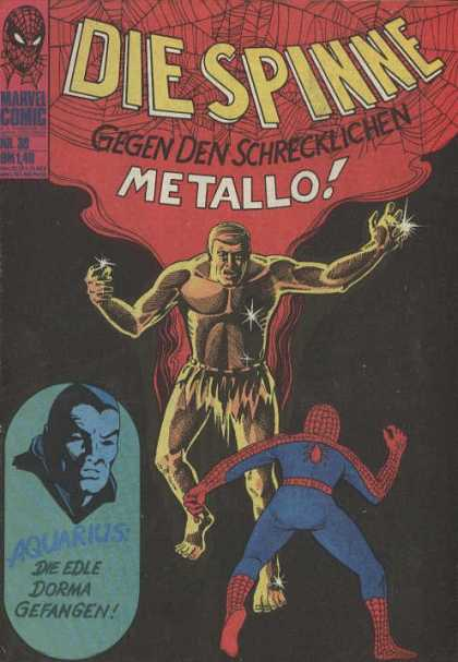 Die Spinne 53 - Spiderman - Metallo - Aquarius - Duel - Fight