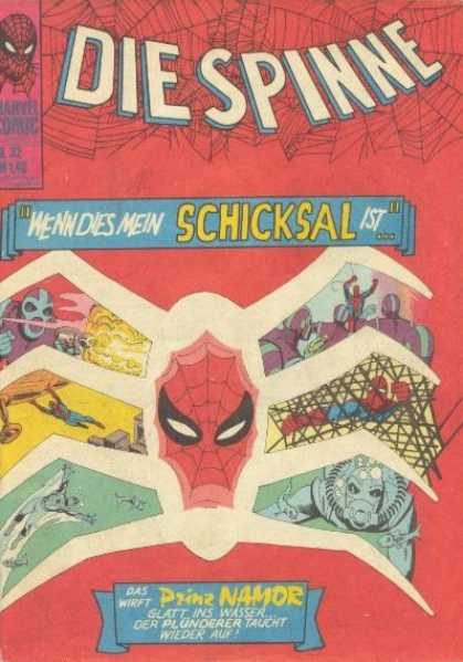 Die Spinne 55 - Spider Men - Spider Part1 - Evils Enemy - Eight Legs Men - The Web Maker