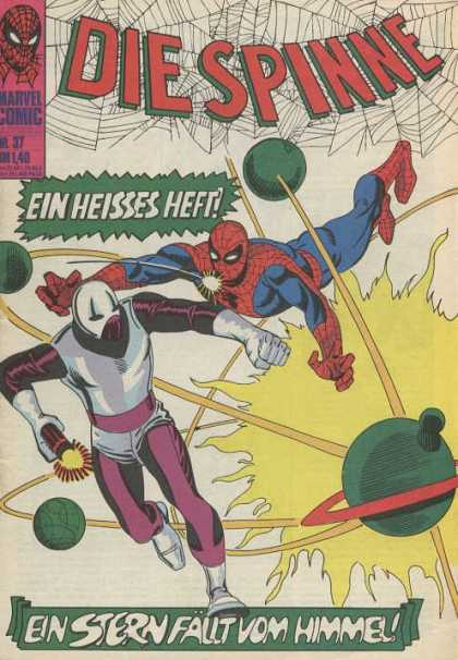 Die Spinne 60 - Spiderman - Spiderweb - Bombs - Marvel - German