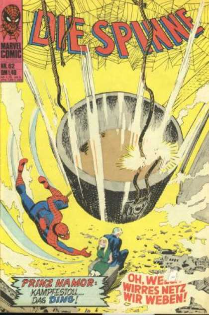 Die Spinne 85 - Die Spinne - Well - Spiderman - Fight - Power