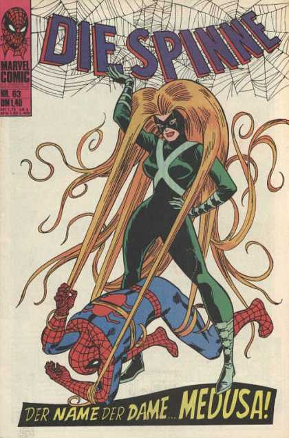 Die Spinne 86 - Spiderman - Medusa - 63 - Spiderwebs - Blonde Hair