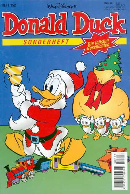 Die Tollsten Geschichten von Donald Duck 152 - Donald Duck Comic Books - Christmas - Disney Comics - Gold Bell - Duck