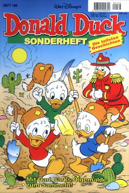 Die Tollsten Geschichten von Donald Duck 166 - Prospecting For Gold - Cactus - Pick-ax - Shovel - Desert