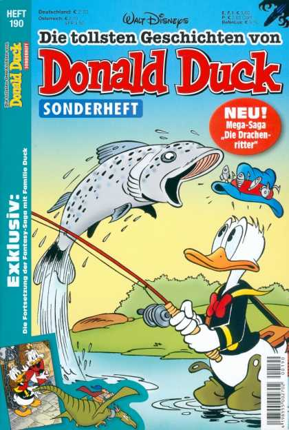 Die Tollsten Geschichten von Donald Duck 190 - Disney - Disney Comics - Donald Duck - Micky Mouse - Fishing