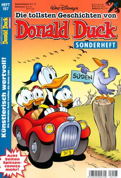 Die Tollsten Geschichten von Donald Duck 197 - Walt Disneys - Sonderheft - Suden - Birds In The Sky - Driving A Car