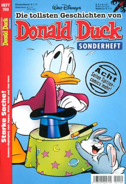 Die Tollsten Geschichten von Donald Duck 199 - Duck - Rabbit - Magic - Top Hat - Walt Disney