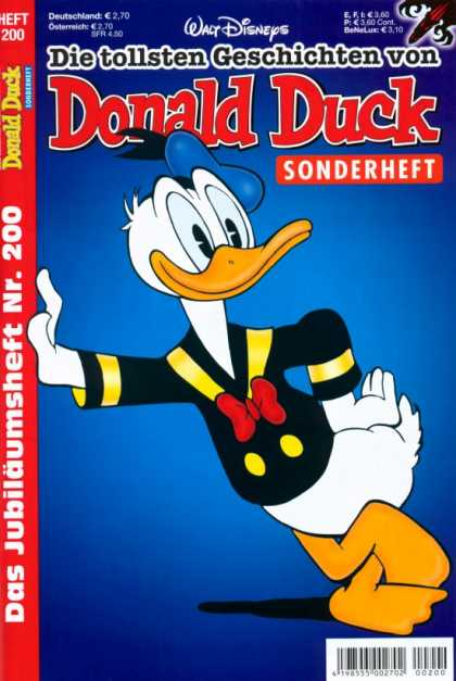Die Tollsten Geschichten von Donald Duck 200 - Bill - Sailor Jacket - Hat - Feathers - Eyes