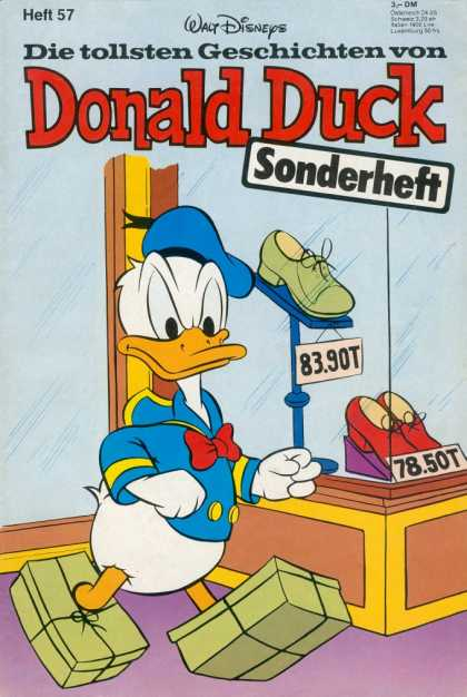 Die Tollsten Geschichten von Donald Duck 57 - Walt Disneys - Sonderheft - Heft 57 - Shoes - Red Color Shoes