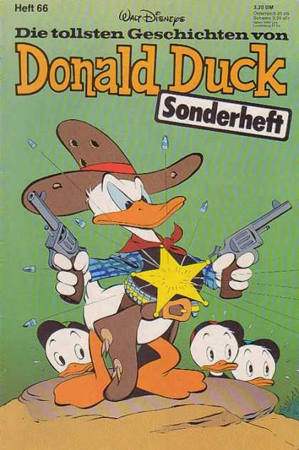 Die Tollsten Geschichten von Donald Duck 66 - Whos The Boss - Built Proof - Three Friends - Sheiff On The Job - My Hero