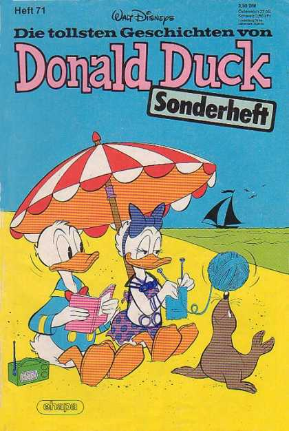 Die Tollsten Geschichten von Donald Duck 71 - A Day On The Beach - Relaxation - Boyfriend And Girlfriend - New Friend - Sunny Day