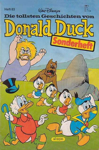 Die Tollsten Geschichten von Donald Duck 83 - Berserk Duck Ogre - German Donald Duck - Highland Plains - Big Dog - Sonderheft