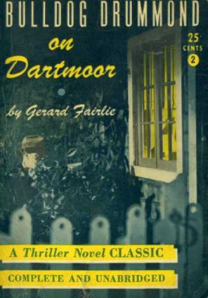 Digests - Bulldog Drummond On Dartmoor - Gerard Fairlie