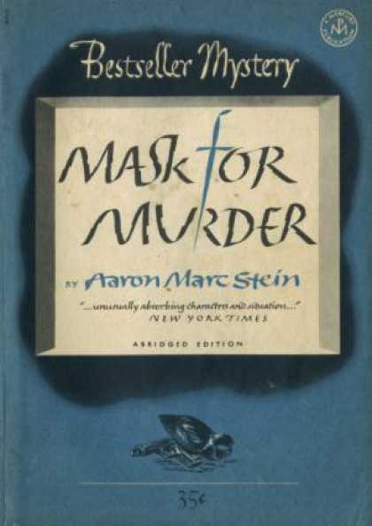 Digests - Mask for Murder - Aaron Marc Stein