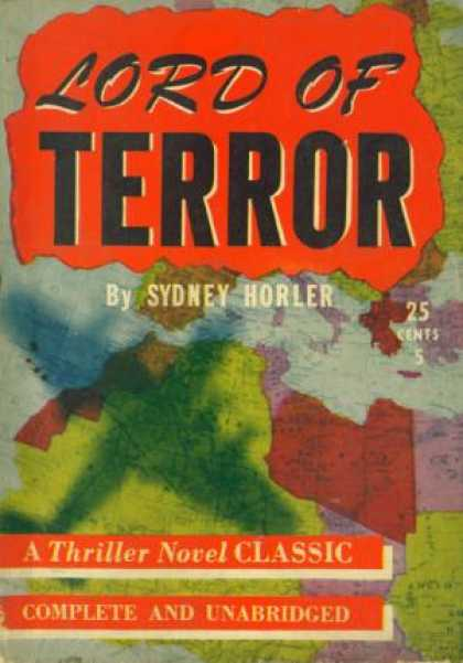 Digests - Lord of Terror - Sydney Horler
