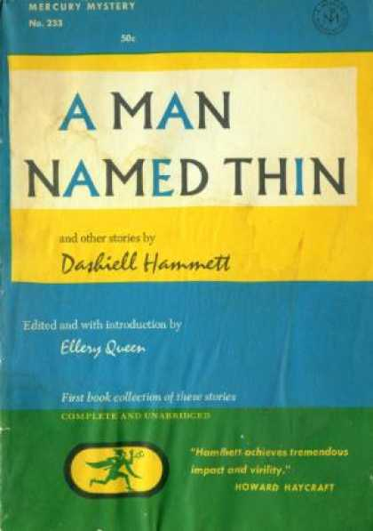 Digests - A Man Named Thin and Other Stories - Dashiell Hammett