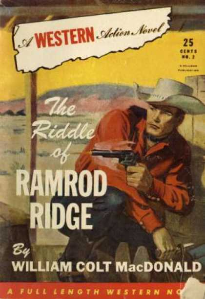 Digests - The Riddle of Ramrod Ridge - William Colt MacDonald