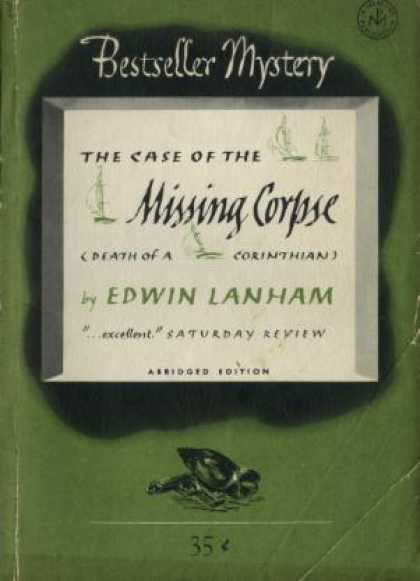 Digests - The Case of the Missing Corpse - Edwin Lanham