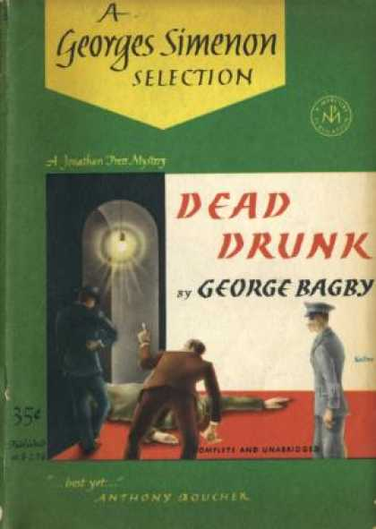 Digests - Dead Drunk - George Bagby