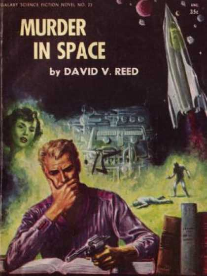 Digests - Murder in Space - David V. Reed