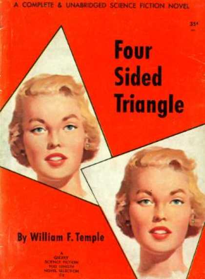 Digests - Four Sided Triangle - William F. Temple