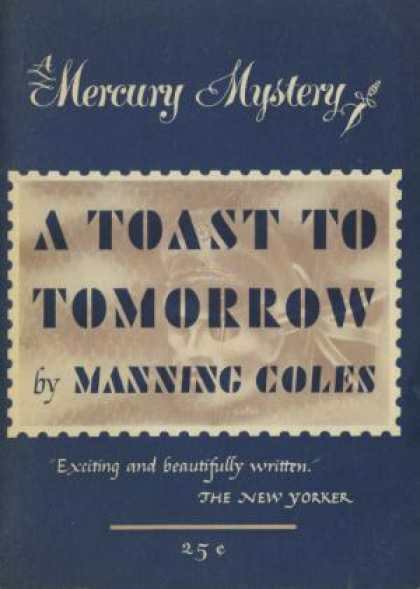 Digests - A Toast To Tomorrow - Manning Coles