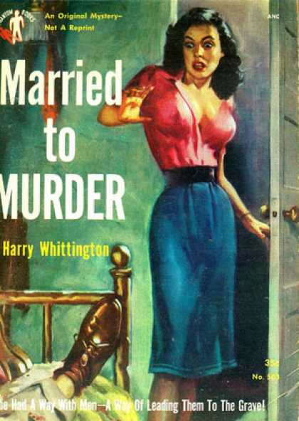 Digests - Married to Murder - Harry Whittington